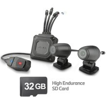 MIO MIVUE M760D 32GB Motorbike GPS Front and Rear Dash Cam