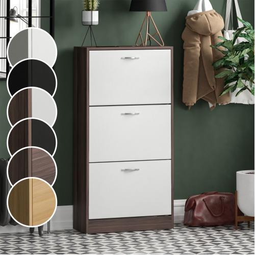 3-Drawer Shoe Storage Cabinet   Shoe Rack Organiser