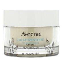 Aveeno, Calm + Restore, Oat Gel Moisturizer, Fragrance Free, 48g