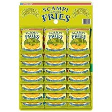 Savoury Snacks Scampi and Lemon Fries Carded Pub Favourites Snacks 27g