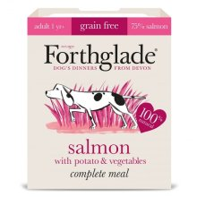 F'glade Complete Meal Gf Adult Salmon W/potato & Veg 395g (Pack of 18)