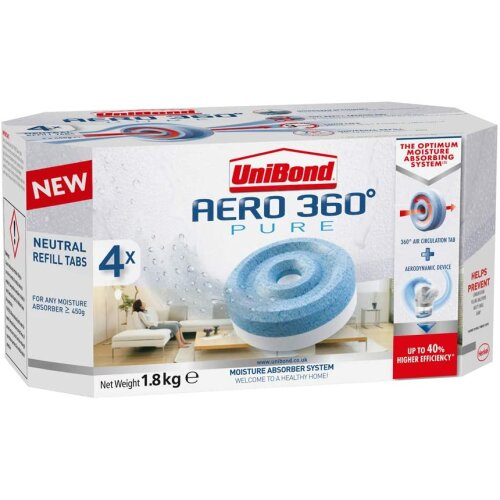 UniBond AERO 360 Degree Moisture Absorber Neutral Refill Tab