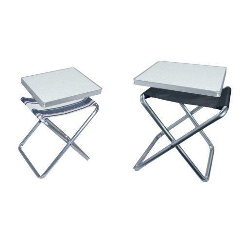 (One Size, Anthracite) Camp 4 Tortuga Camping Stool/Table
