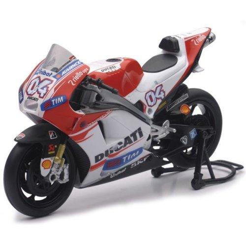 New-Ray 57723 Ducati Racing Team 2015 Desmosedici Street Bike - Andrea Dovizioso  Pack of 24