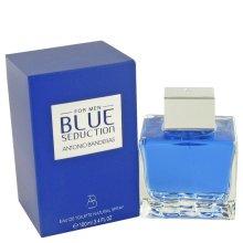Blue Seduction by Antonio Banderas Eau De Toilette Spray 3.4 oz