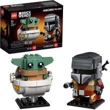 LEGO 75317 BrickHeadz Star Wars The Mandalorian & The Child