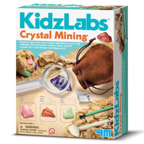 Crystal Mining - Kidz Labs Excavation kit