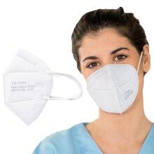 OFZVEO FFP2 KN95 Face Masks Anti-Fog Dust-Proof