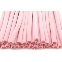 Smooth Strawberry Pencil Sweets HALAL