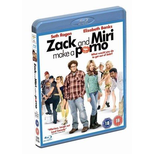 Zack And Miri Make A Porno Blu-Ray [2009]
