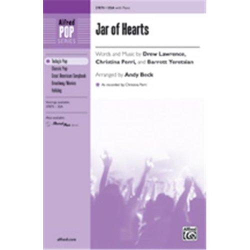 Alfred 00-37871 JAR OF HEARTS-STRX CD