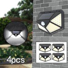 LED Solar Power Lamp PIR Motion Sensor Wall Lights Outdoor Garden