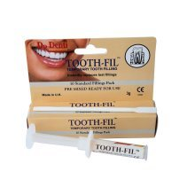 Dr Denti - Toothfil - Temporary Tooth Filling Paste - 10 Doses - 3G