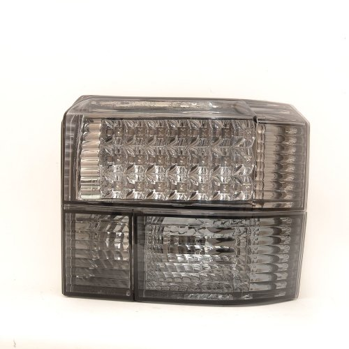 Vw Transporter T4 & Caravelle 90-03 Rear Tail Lights Smoked Led Pair