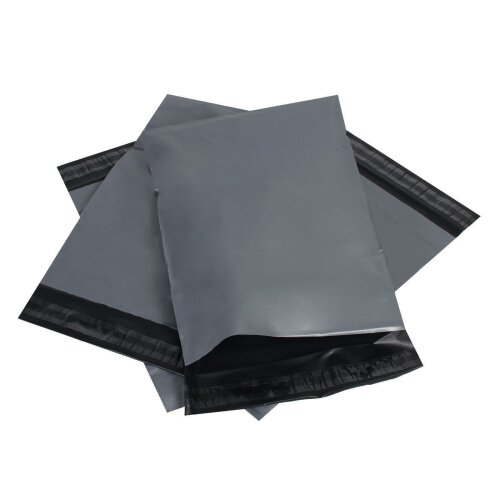 1,000x 10x14 Recycled Mail Bag (Grey)