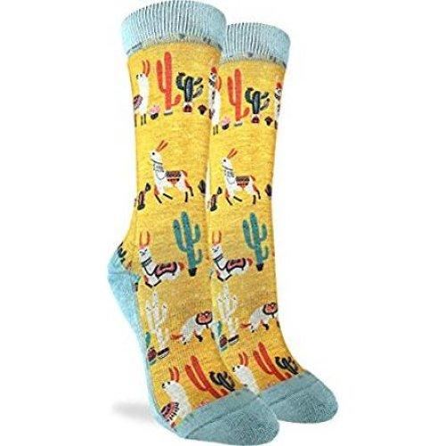 Socks - Good Luck Sock - Women's Active Fit - Llamas (5-9) 5095