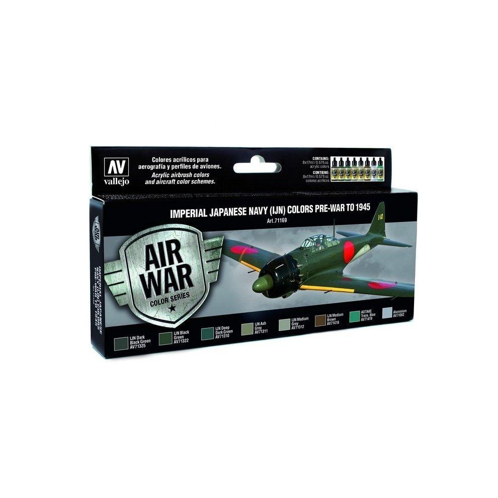 VAL71176   Model Air Set Metallic Colors VALLEJO