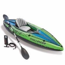 Intex 68305 Challenger K1 Inflatable Canoe Kayak
