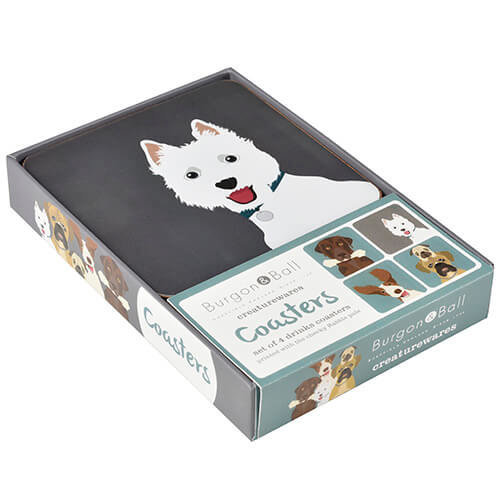 Burgon & Ball Creaturewares The Rabble Dog Coasters