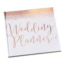 Ginger Ray Rose Gold Foiled Wedding Planner