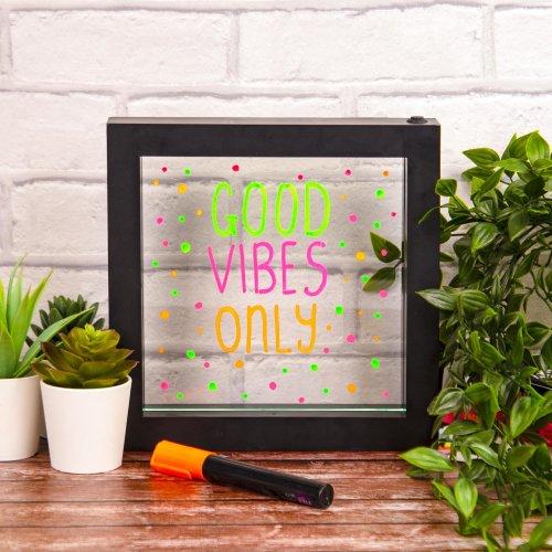 Fizz Creations Small Neon Message Board