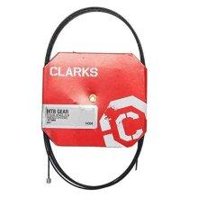 Clarks Teflon Gear Cable - Black, 227.5 cm