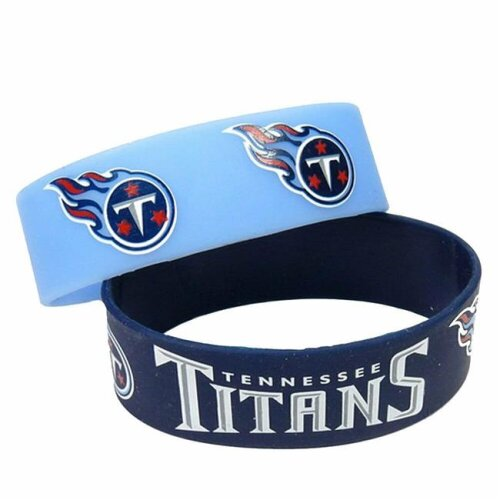 Amo 6326480751 Tennessee Titans Bracelet - Pack of 2