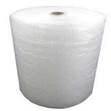 Globe Packaging 500mm x 100m Roll of Quality Bubble Wrap - Small Bubbles