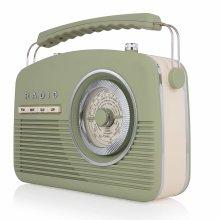 Akai Vintage Radio, 4 Band Radio, Portable Size, Mains or Battery, Nostalgic 1950s Design