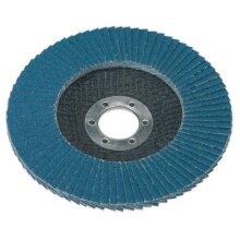 Sealey FD12580 Flap Disc Zirconium Ø125mm 22mm Bore 80grit