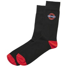 TFL6303 Mens Licensed Mind the Gap Roundel Embroidery Sock Size 6-11