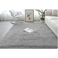 Abaseen Comfort Soft Carpet Area Rugs - Grey