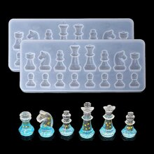 Silicone Resin Chess DIY Molds Jewelry Pendant Making Tool Mould Craft Handmade