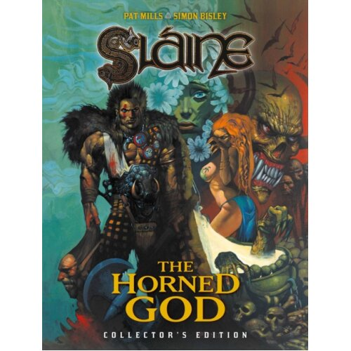 Slaine The Horned God - Collectors Edition by Mills & PatBisley & Simon