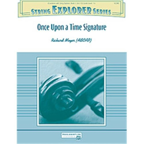 Alfred 00-33712 ONCE UPON A TIME SIGNATURE-HSE