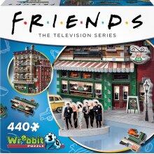 Wrebbit 3D Friends - Central Perk Jigsaw Puzzle - 440 Pieces