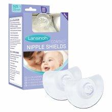 Lansinoh Contact Nipple Shields with Case (20mm Medium)