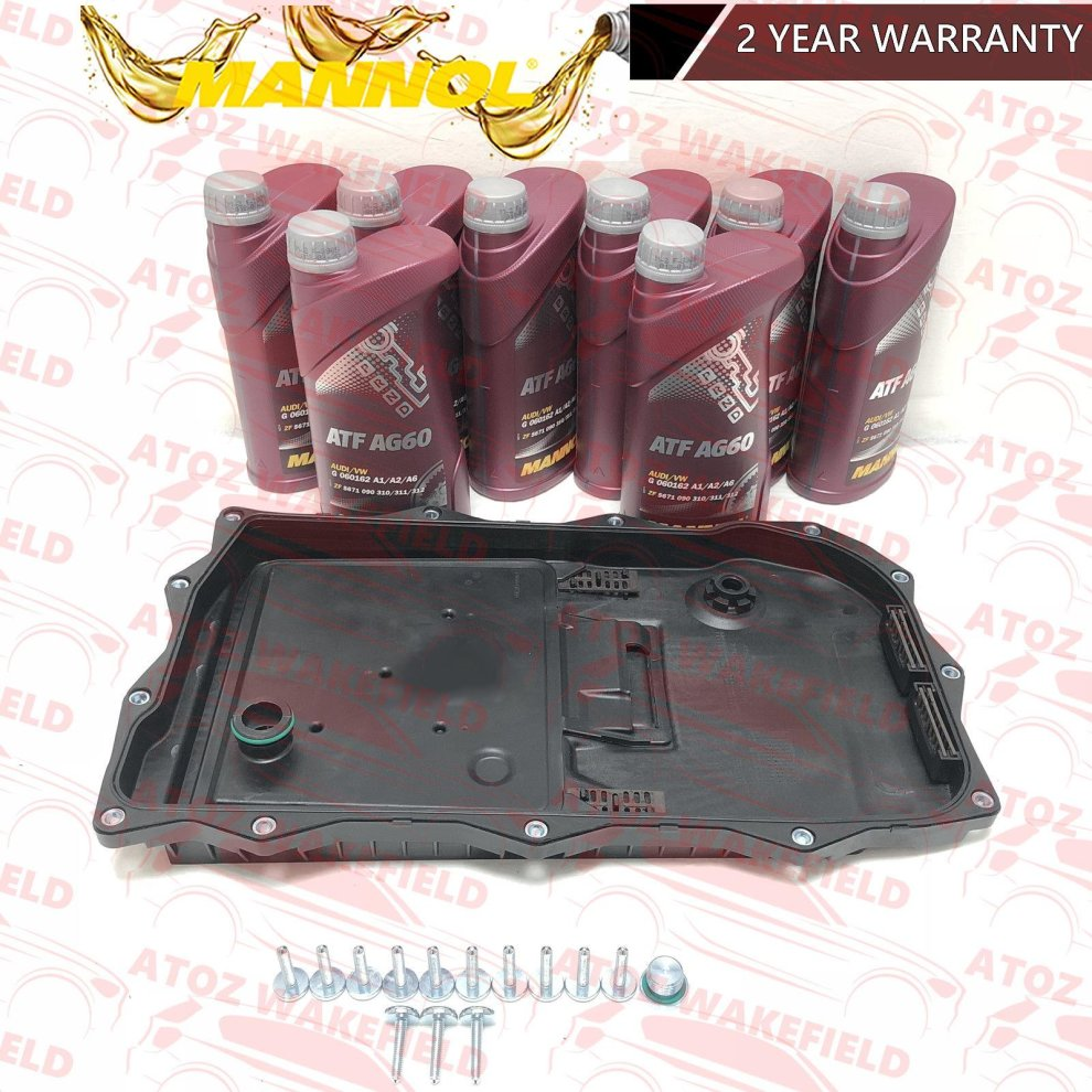 FOR BMW X6 E71 E72 AUTOMATIC TRANSMISSION GEARBOX SUMP PAN FILTER & 8L OIL  KIT on OnBuy