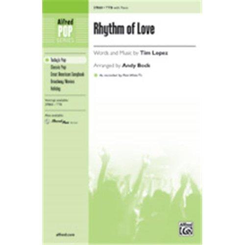 Alfred 00-37869 RHYTHM OF LOVE-STRX CD