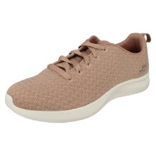 Ladies Bobs Sports By Skechers Lace Up Trainers Grand Jubilee 32803