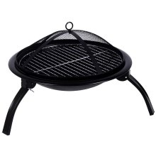 Home Discount Black Outdoor Fire Pit