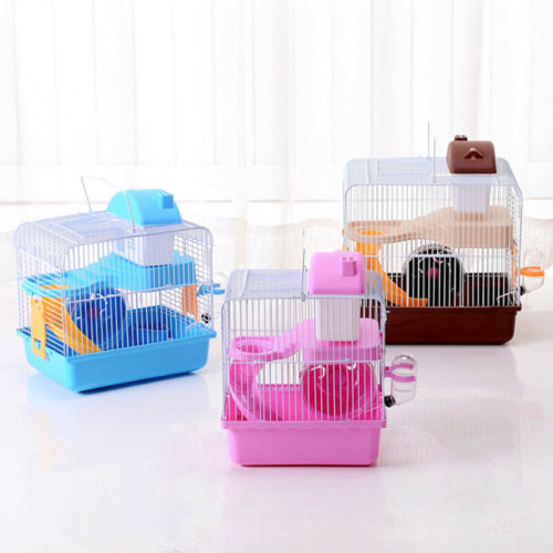 2 Tiers Gorgeous Hamster Mouse Cage Storey Fantasia Hamster Cage Castle UK