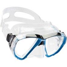 Cressi Big Eyes Scuba Diving and Snorkeling Mask - Blue