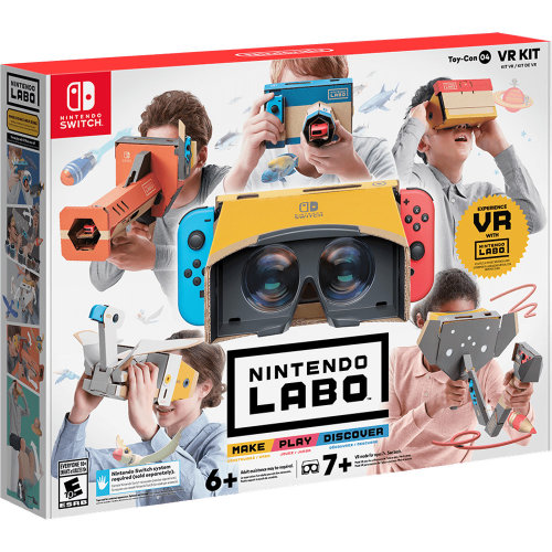 Nintendo Switch Labo Toy Con 04: VR Kit | Nintendo Labo VR