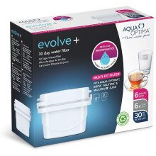 Evolve 30 Day Water Filter Cartridge White 6 pack Months Supply New