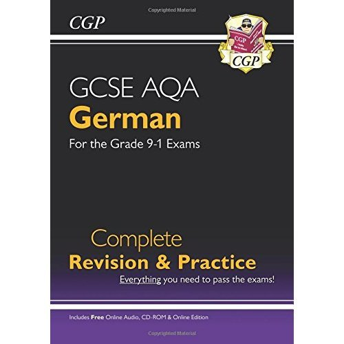New GCSE German AQA Complete Revision & Practice (with CD & Online Edition) - Grade 9-1 Course (CGP GCSE German 9-1 Revision)