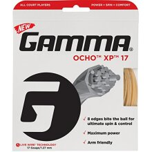 Gamma Sports Live Wire OCHO XP 17g Tennis String