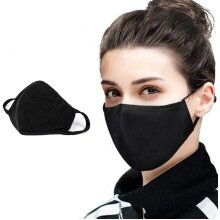 Reusable 2Ply Cotton Fashion Face Mask Washable Protect Cover Bandana Balaclavas Mouth Cover