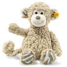 Steiff Bingo Monkey 12? Soft Cuddly Friends Stuffed Animal