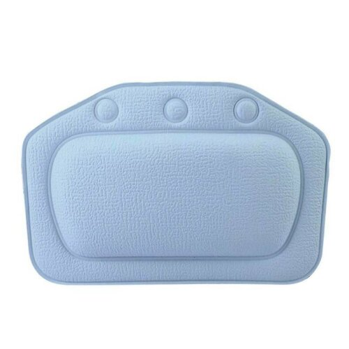 (Dark Blue) Spa Pool, Bath Headrest Hot Tub Head Rest Pillow Neck Support Removable